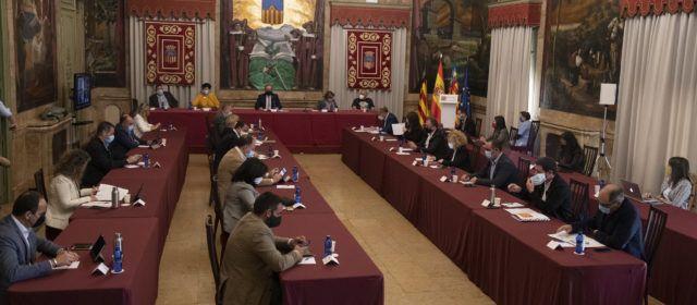 La Diputació de Castelló transfereix 35,6 milions als ajuntaments, un 54% més que en 2019