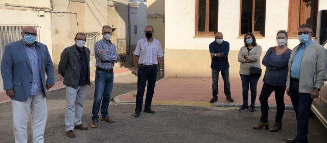 El Director General d'Agricultura, Ramaderia i Pesca visita Santa Magdalena