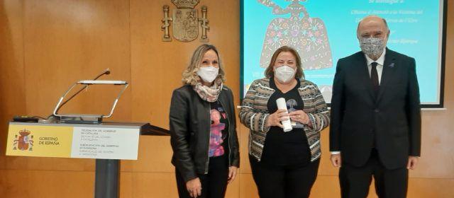 Joan Sabaté entrega el reconocimiento Meninas 2020 a la Oficina de Atención a la Víctima del Delito de Terres de l'Ebre