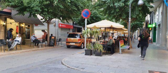 Esperando la bajada de la curva del covid en Vinaròs