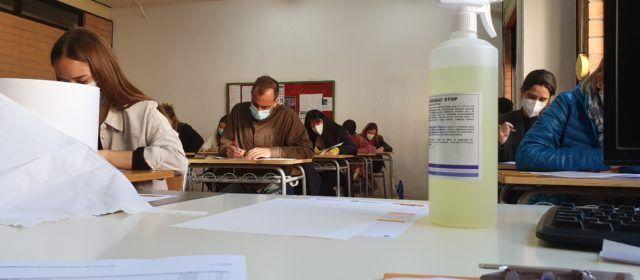 460 participants en els primers exàmens de valencià a Vinaròs en temps de pandèmia