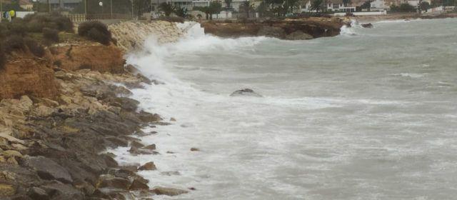 Fotos: temporal marítim (zona sud de Vinaròs)