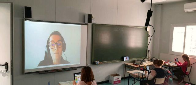 """El CRA Araboga es """"reinventa"""" amb noves tecnologies pel confinament de mestres"""