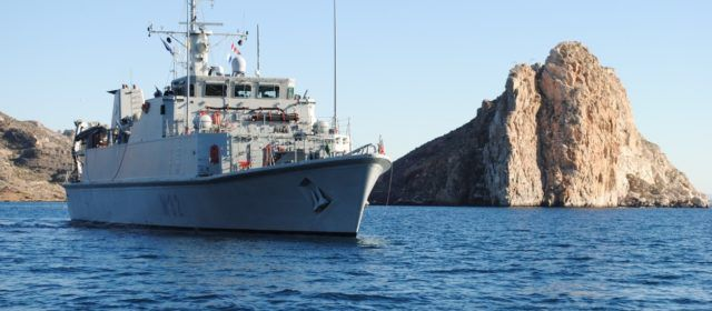 La Armada Española localiza e identifica la avioneta siniestrada en aguas próximas al Delta del Ebro