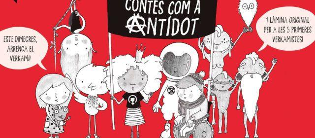 """""""Contes com a antídot"""" creats per les ebrenques Eva Vázquez i Laia Ortiz"""
