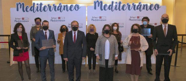 La Diputació de Castelló premia les quatre millors obres literàries ambientades en localitats com Morella i Benassal en la gala 'Letras del Mediterráneo'