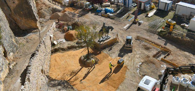 Avancen les obres de rehabilitació de les torres de Sant Francesc i La Pardala de Morella