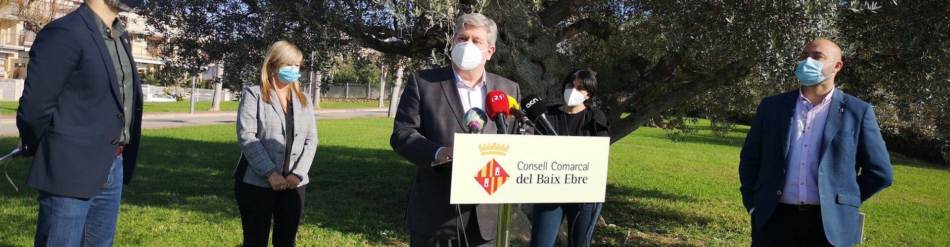 Els consells comarcals de les Terres de l'Ebre impulsen un pla de reactivació socioeconòmica amb una inversió de 800.000 euros