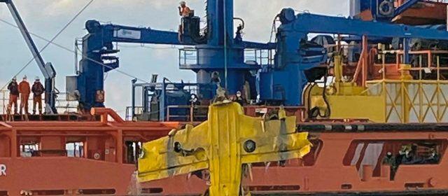 Rescatado el cuerpo del ocupante de la avioneta siniestrada frente al Delta de l'Ebre, atrapado a 113 metros de profundidad