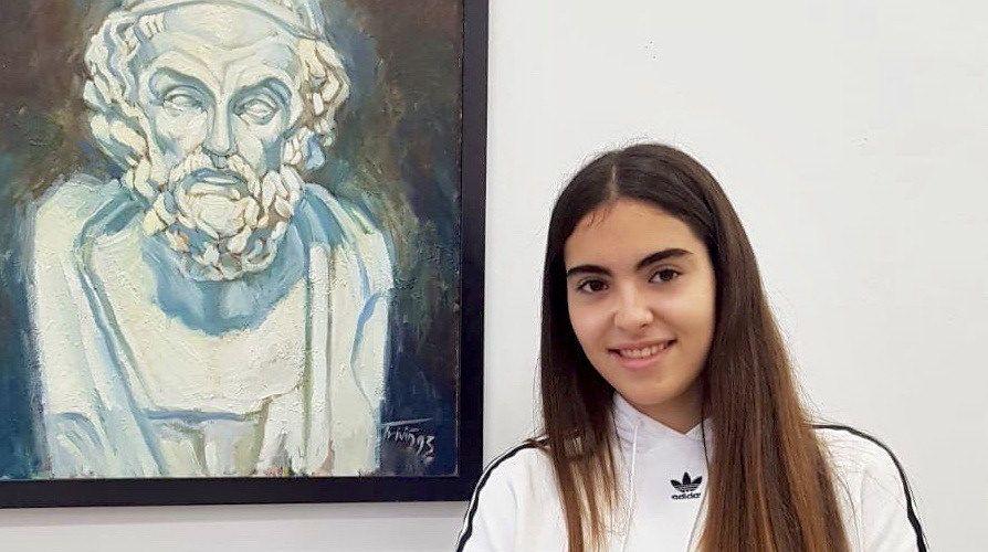 Premi extraordinari d'ESO a Rosa Maria Monfort, del L.Querol de Vinaròs