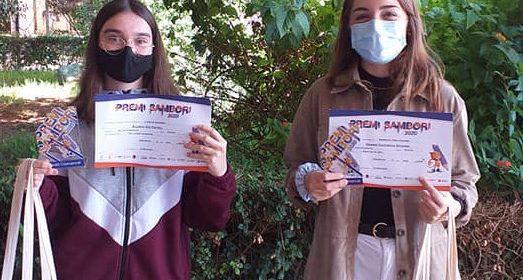 Dues alumnes de l'IES Vilaplana de Vinaròs, a la final del Premi Sambori