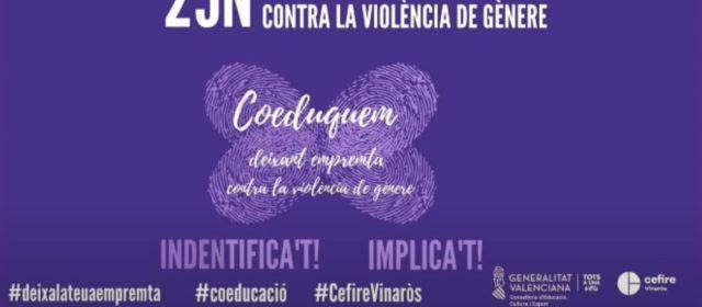 El CEFIRE de Vinaròs resumeix en un vídeo la celebració educativa del Dia Contra la Violència de Gènere