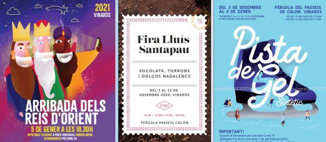 L'Ajuntament de Vinaròs presenta la programació de Nadal 2020