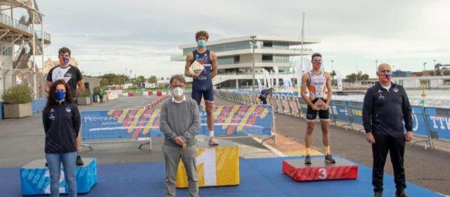 El vinarossenc Guillem Segura, 2n en el Campionat Autonòmic de Triatló