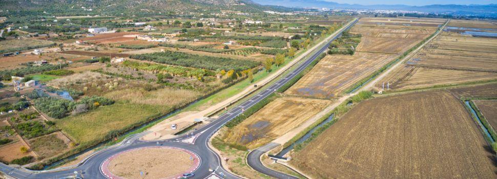 La Diputació millora la xarxa viària al Montsià amb el condicionament de la TV-3408 entre Amposta i Sant Carles de la Ràpita