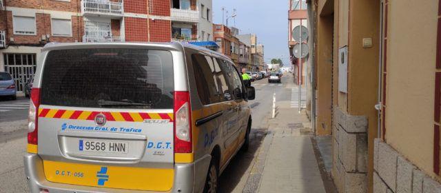 Herido un motorista en un accidente en la calle Puig de la Nau de Benicarló