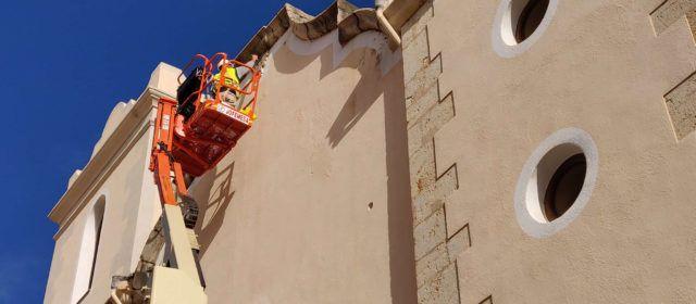 L'Ajuntament de Vinaròs recuperarà les pinturesbarroques de les façanes dels edificis del centre històric