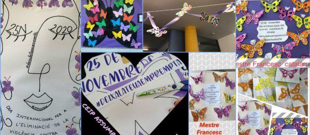 Els centres educatius del Maestrat commemoren el Dia Internacional Contra la Violència de Gènere
