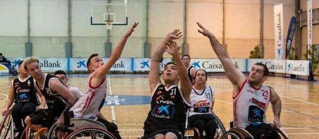 Cuatro jugadores del Afaniad Vinaròs logran la medalla de plata en el campeonato de España de baloncesto en silla de ruedas
