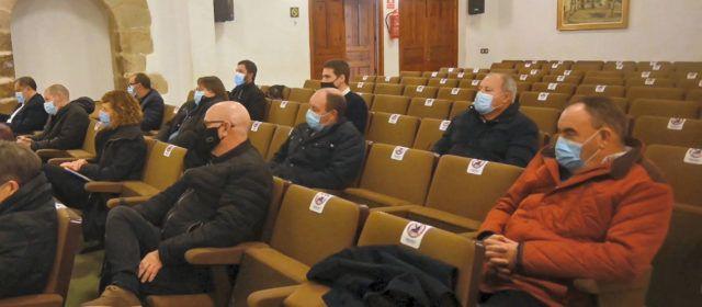 Trobada socialista a Morella per analitzar les mesures del govern central contra el despoblament