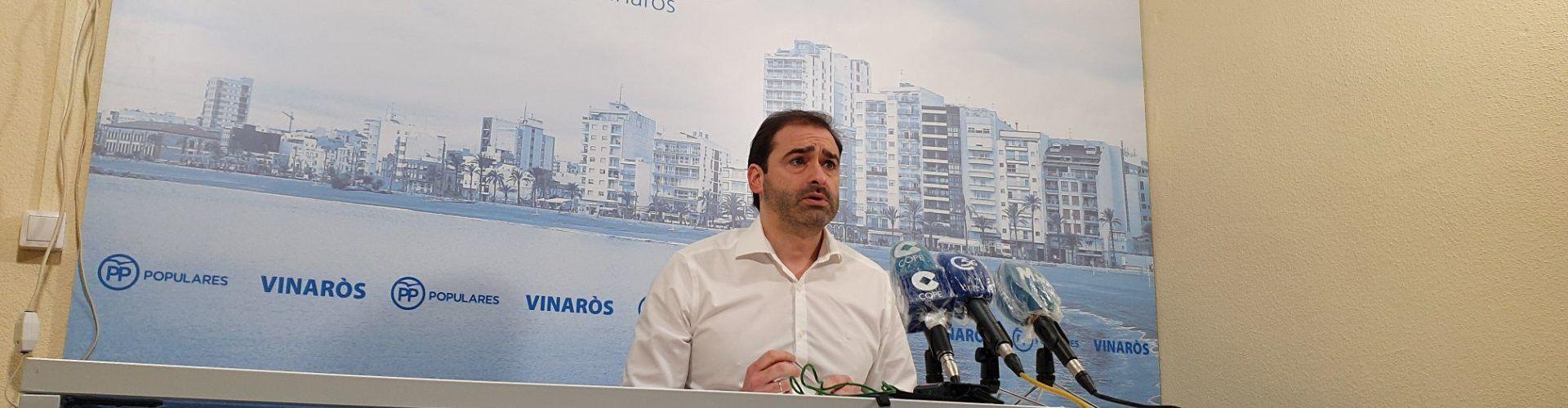 Vídeo: roda de premsa del portaveu del PP a Vinaròs J.Amat