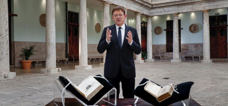 Missatge de Cap d'Any del president de la Generalitat Valenciana Ximo Puig