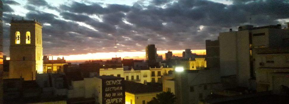 Fotos: L'alba el dia de la Nit de Nadal a Vinaròs