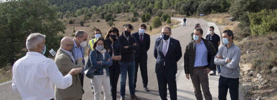 La Diputació de Castelló ha invertit més de 7 milions d'euros en 2020 en la millora de la seguretat viària en la xarxa provincial de carreteres