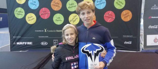 Roger Pascual, de Vinaròs, guanya el Master Rafa Nadal Tour By MAPFRE