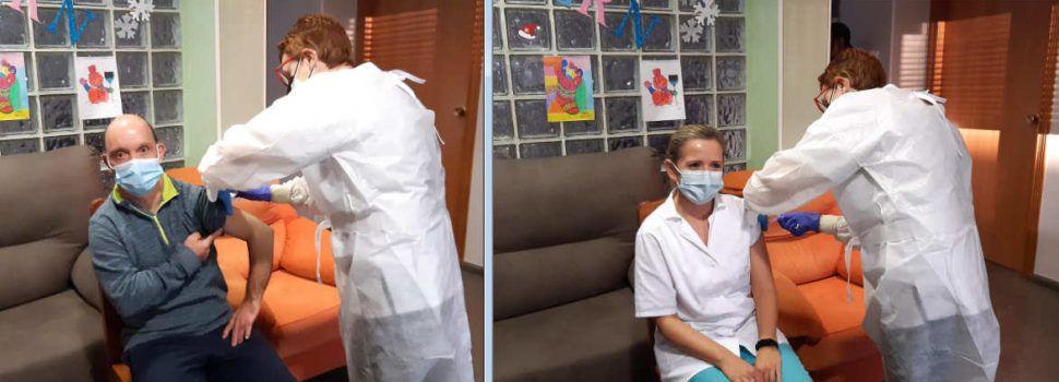 11 usuaris i els 9 treballadors de la Residència S. Francesc de Benicarló reben les primeres vacunes al Maestrat