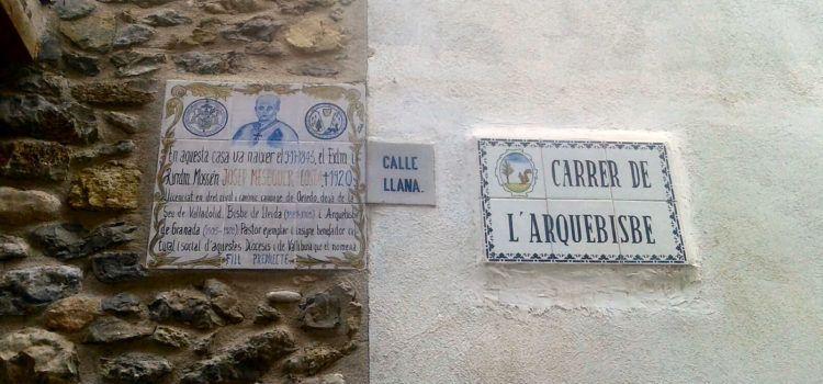 Fe i Fets: Centenari de la mort de l'arquebisbe Meseguer i Costa, de Vallibona