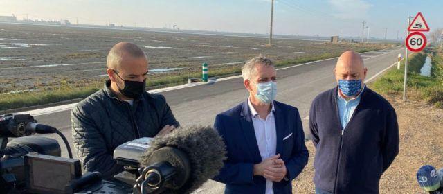 Els alcaldes d'Amposta i la Ràpita valoren positivament la licitació de la redacció del projecte de millora de la carretera al Poble Nou