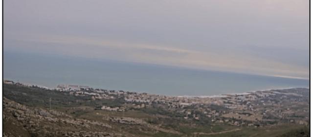 Alcalà-Alcossebre instal·la noves càmeres web a la platja del Carregador i l'ermita de Santa Llúcia