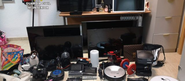 Detenido el presunto autor de 7 robos en apartamentos de Peñíscola