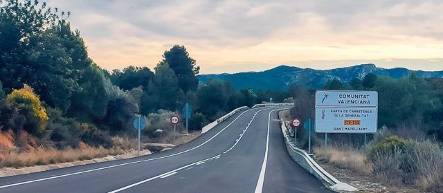 La Generalitat invierte 1,6 millones de euros en la mejora de la CV-10 y CV-132 en los términos de la Salzadella y Sant Mateu