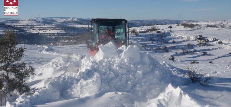 Vídeo y fotos: acumulación de nieve en los ventisqueros