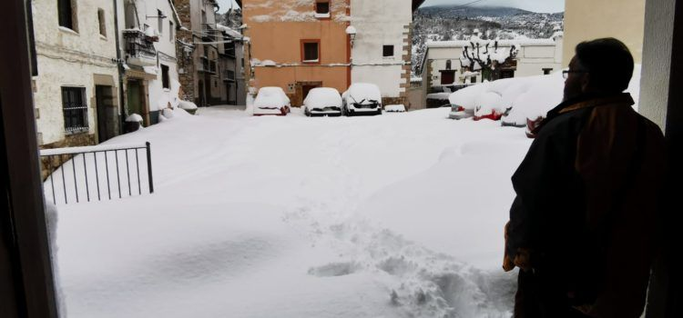 "Fotos: La nevada a Vallibona, ""a vista de La Carbonera"""