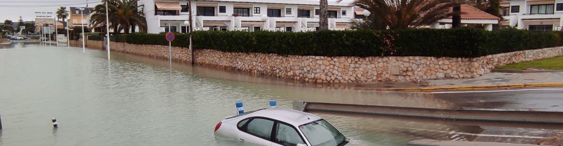 Fotos: el temporal a la costa de Benicarló