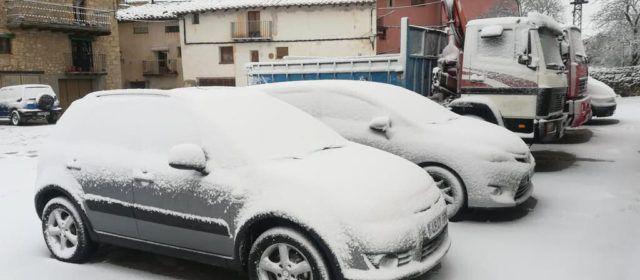 La neu estrena l'any a Els Ports i l'Alt Maestrat
