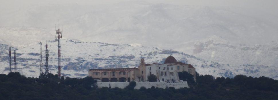 Fotos: La neu, vista des de Vinaròs