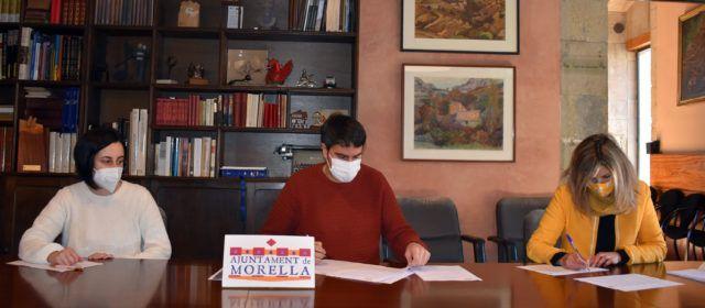 Morella i l'AMPA signen el conveni de col·laboració pel servei de l'Escola Matinera
