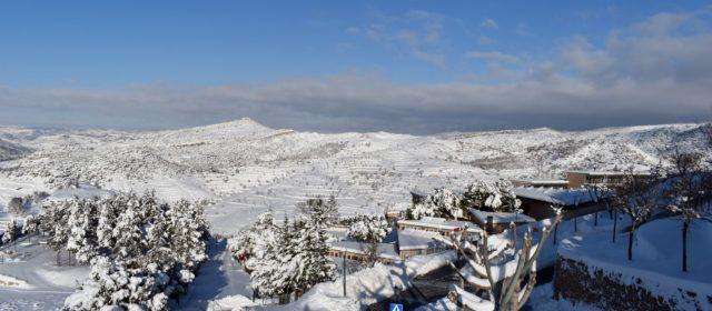 Demà dimarts tornen a obrir els centres educatius de Morella, després de la nevada