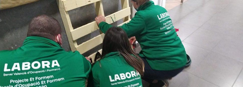 Els alumnes de l'Escola d'Ocupació Et Formem de Vinaròs realitzen les primeres pràctiques