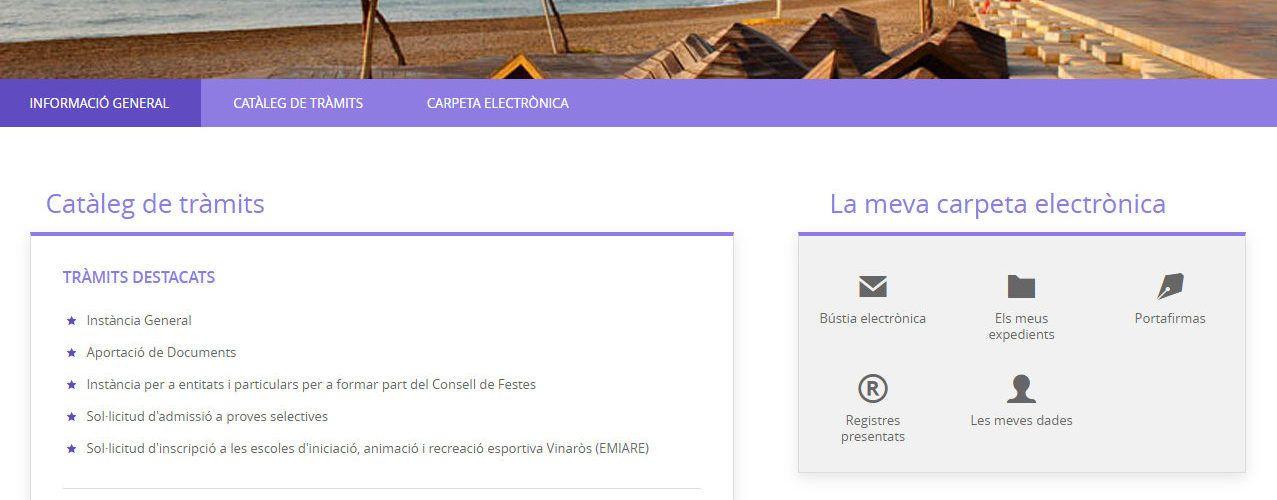 L'Ajuntament de Vinaròs ha gestionat més de 12.000 tràmits electrònics durant el 2020
