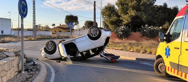 Dos accidentes sin heridos este viernes por la mañana en Benicarló