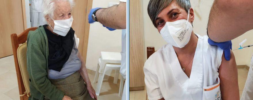 Vacunats els 46 usuaris i 42 treballadors del Centre Geriàtric de Benicarló