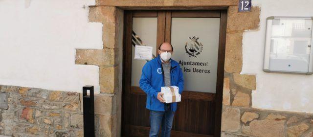 La Diputació reparteix des de l'inici de la pandèmia 525.000 mascaretes entre els 135 municipis de la província
