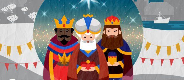 Els Reis Mags d'Orient a Alcanar i les Cases i el camí de la Màgia