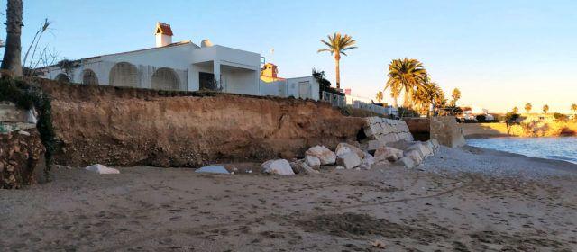 Fotos: la costa de Vinaròs, de nou afectada pels temporals