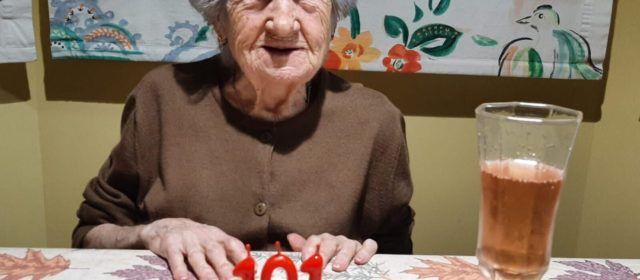 Emilia Biosca compleix 101 anys